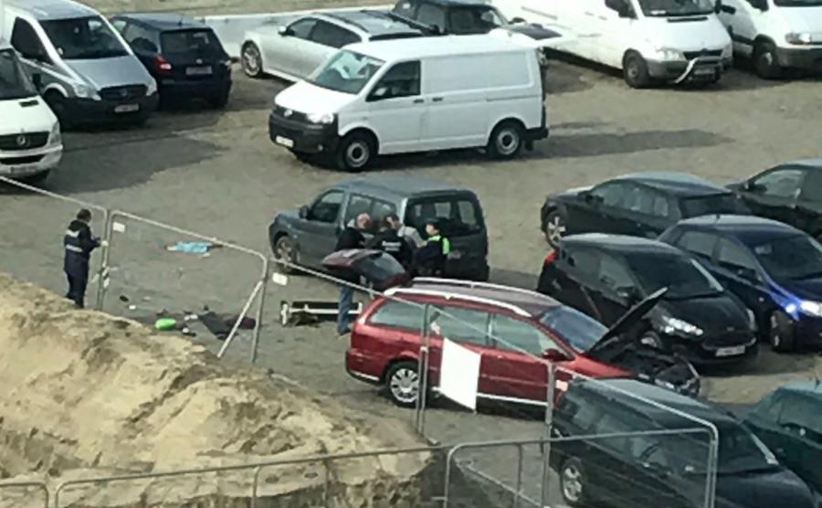 W samochodzie znaleziono broń