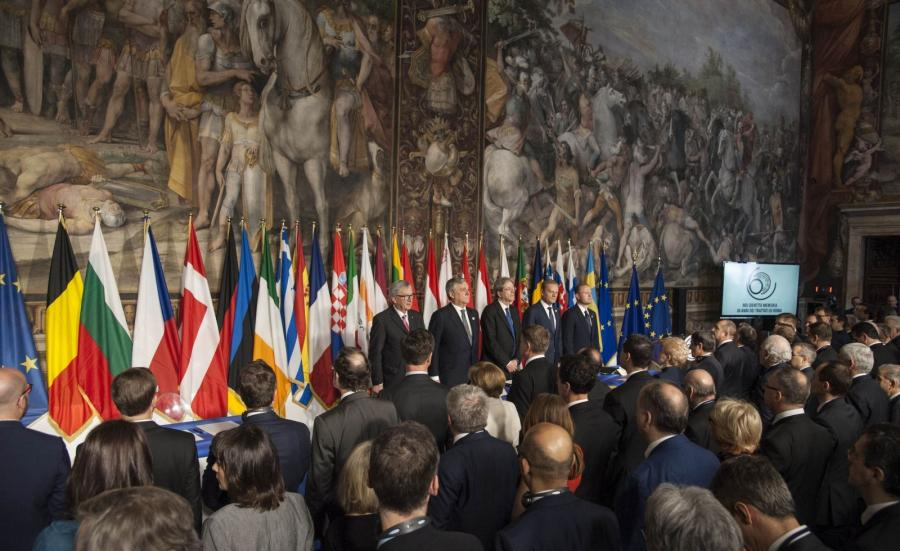 Obchody 60-lecia podpisania Traktatów Rzymskich