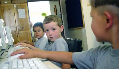 Komputer znają już od przedszkola