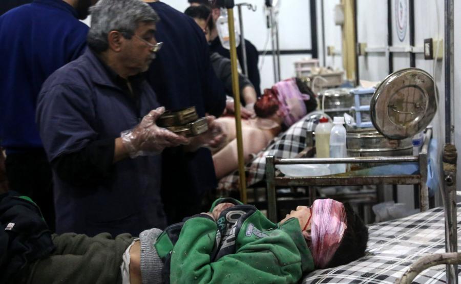 Ofiary ataku w Syrii