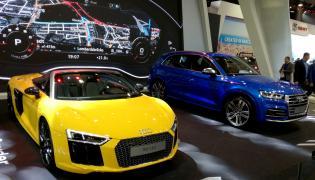 R8 Spyder i SQ5 były najważniejszymi premierami Audi w czasie poznańskiej wystawy
