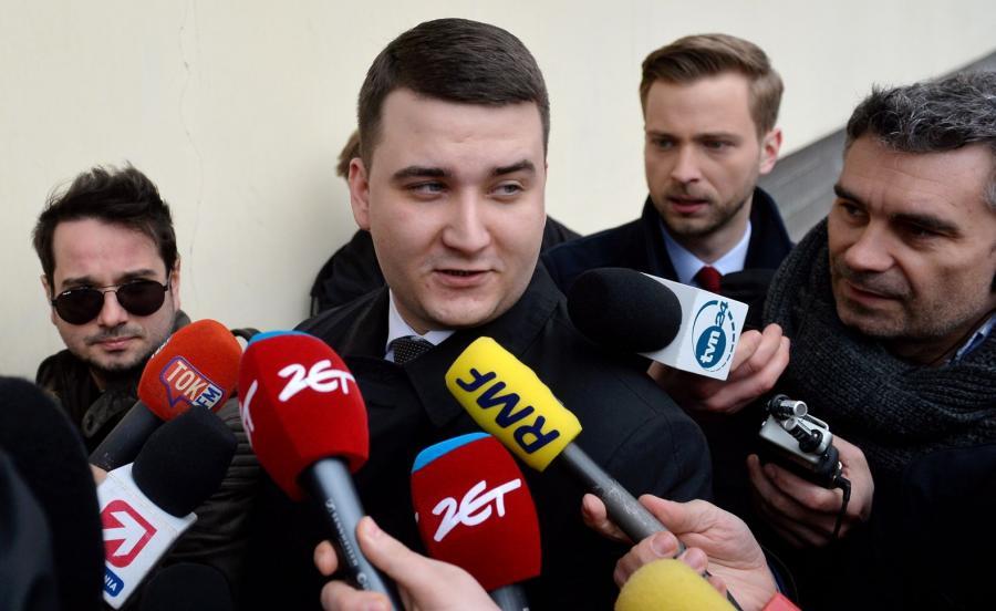 Były rzecznik MON Bartłomiej Misiewicz