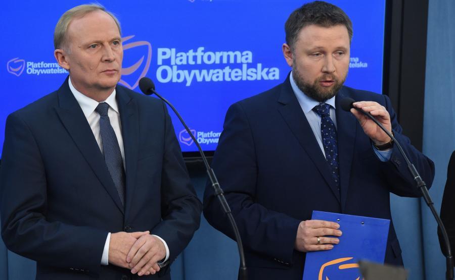 Czesław Mroczek i Marcin Kierwiński