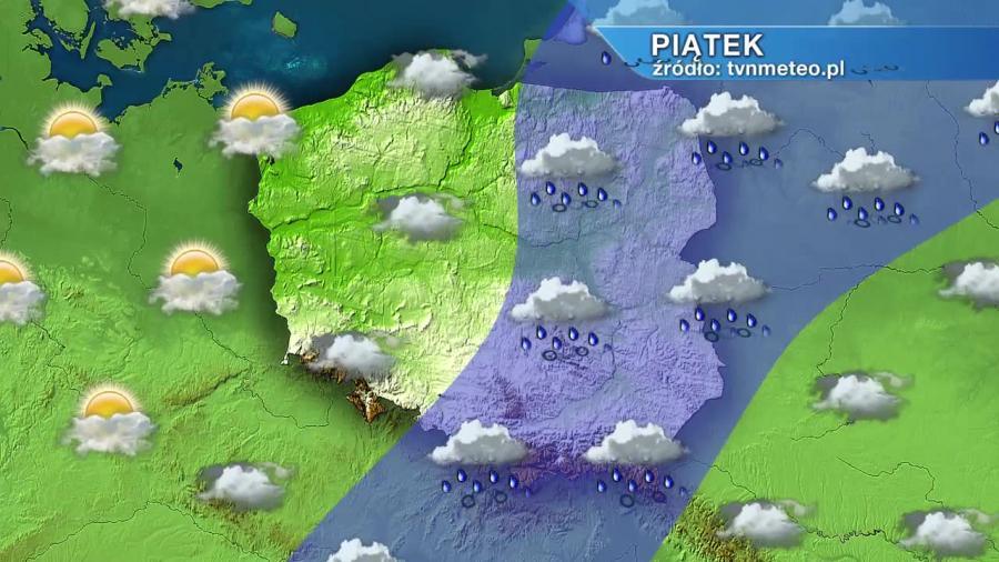 Prognoza pogody na majówkę