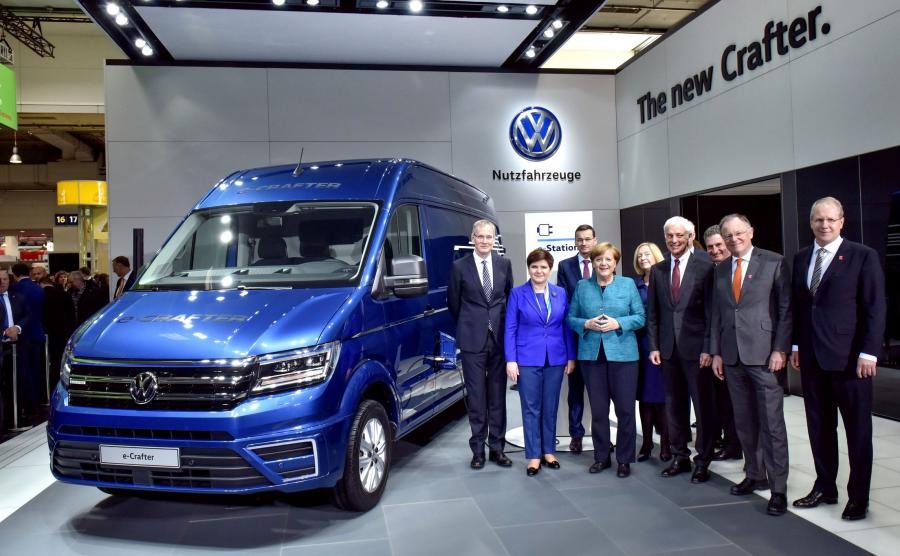 Volkswagen e-crafter w Hanowerze