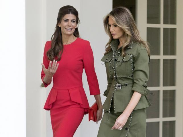 Juliana Awada i Melania Trump