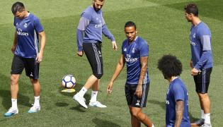 Pepe, Karim Benzema, Danilo, Marcelo i Cristiano Ronaldo