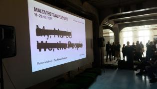 Konferencja zapowiadająca festiwal Malta