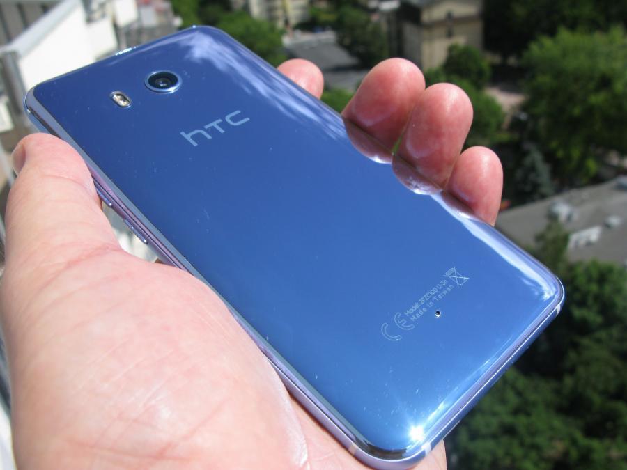 HTC U11 - plecki robią wrażenie