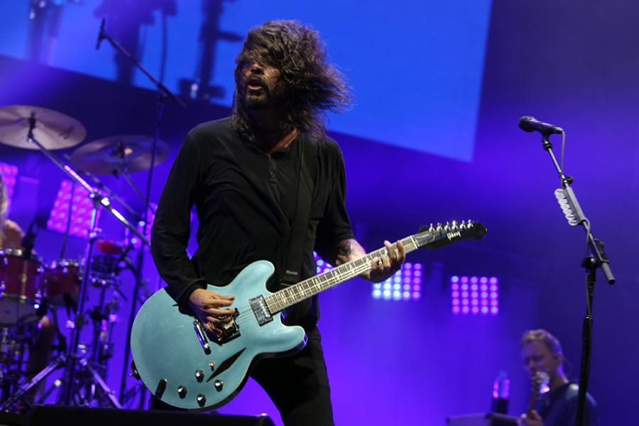 Foo Fighters na Open'er Festival 2017; 29.06.2017