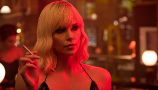 "Charlize Theron w filmie ""Atomic Blonde"""