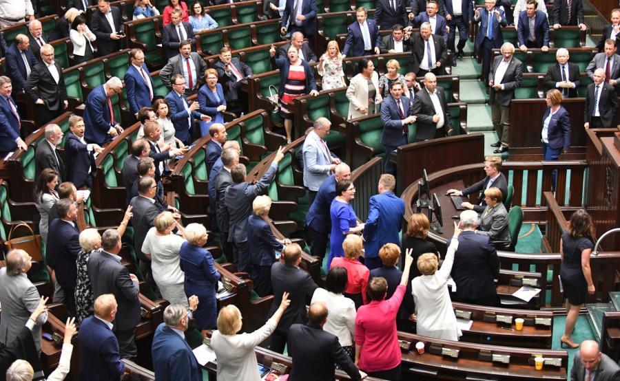 Burzliwe posiedzenie Sejmu