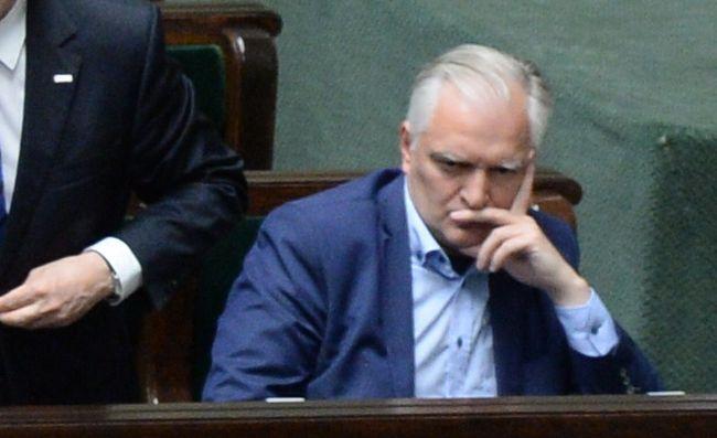 Jarosław Gowin po głosowaniu ws. zmiany ustawy o SN