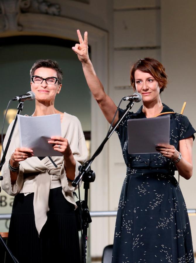 Danuta Stenka i Maja Ostaszewska