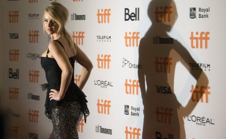 Jennifer Lawrence w Toronto