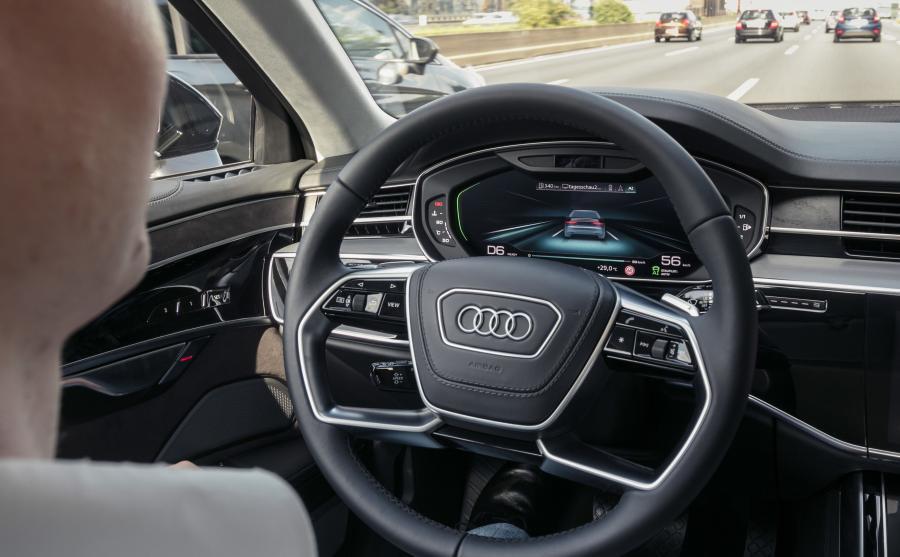 Audi A8 już teraz jeździ autonomicznie