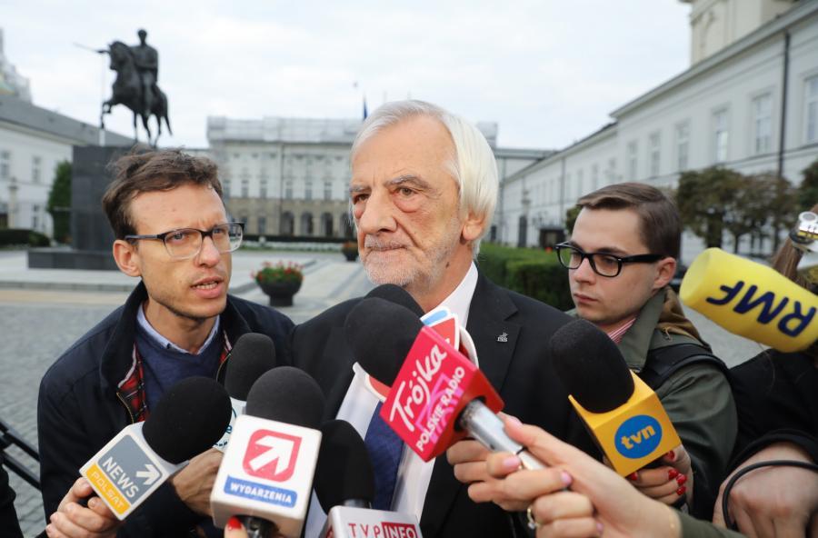 Wicemarszałek Sejmu, szef klubu PiS Ryszard Terlecki