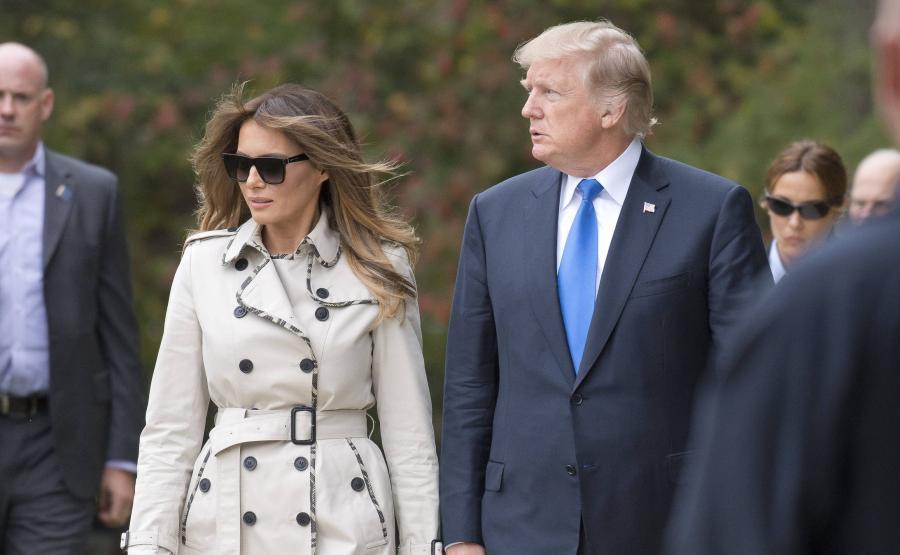 ece253e65ad Donald Trump podróżuje z sobowtórem żony? Najnowsza teoria spiskowa ...