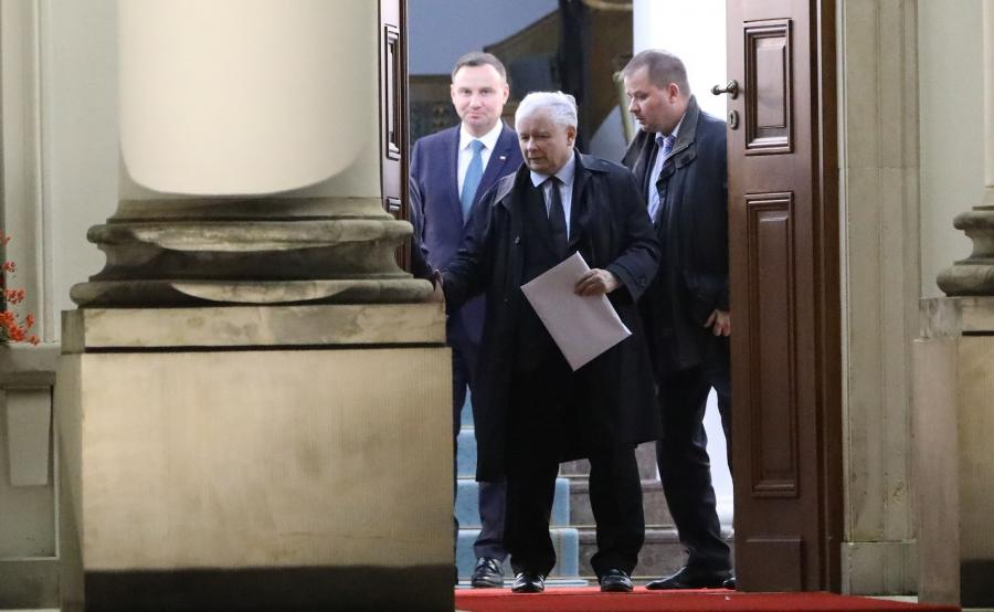 Spotkanie prezydenta z prezesem PiS