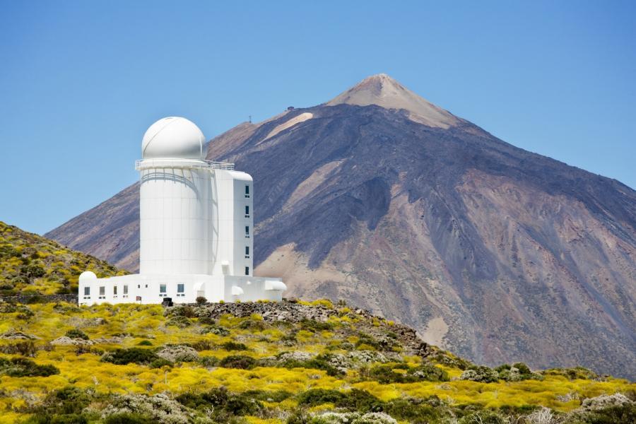 Teneryfa, Obserwatorium Astronomiczne i góra Teide
