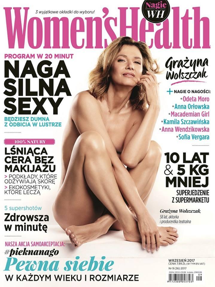 Grażyna Wolszczak Fot. www.facebook.com/WomensHealthPolska