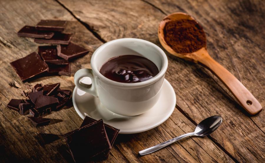 Gorąca czekolada i kakao