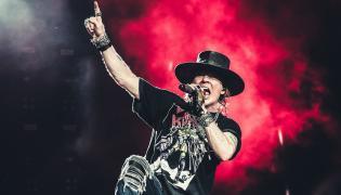 W. Axl Rose, wokalista Guns N' Roses