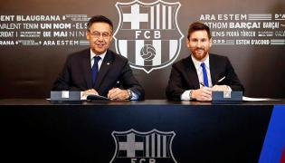 Prezydent Barcelony, Josep Maria Bartomeui Lionel Messi