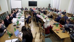 Posiedzenie Komisji Nadzwyczajnej