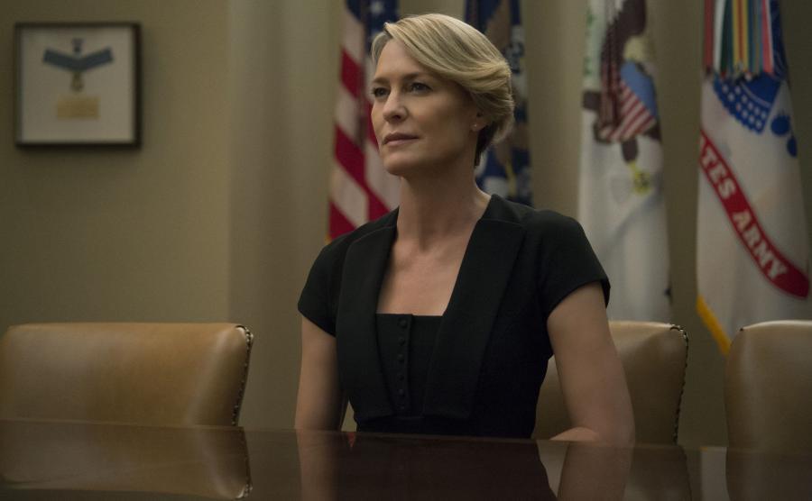 Robin Wright jako Claire Underwood