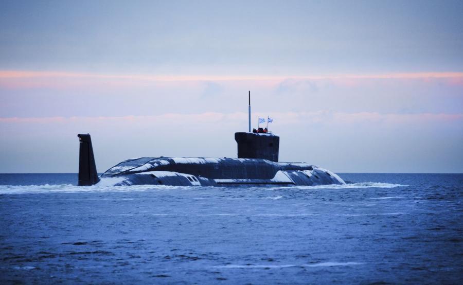 Rosyjski okręt podwodny