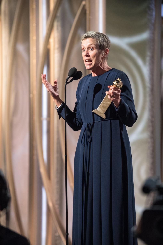 """Frances McDormand z nagrodą za """"Trzy billboardy za Ebbing, Missouri"""""""