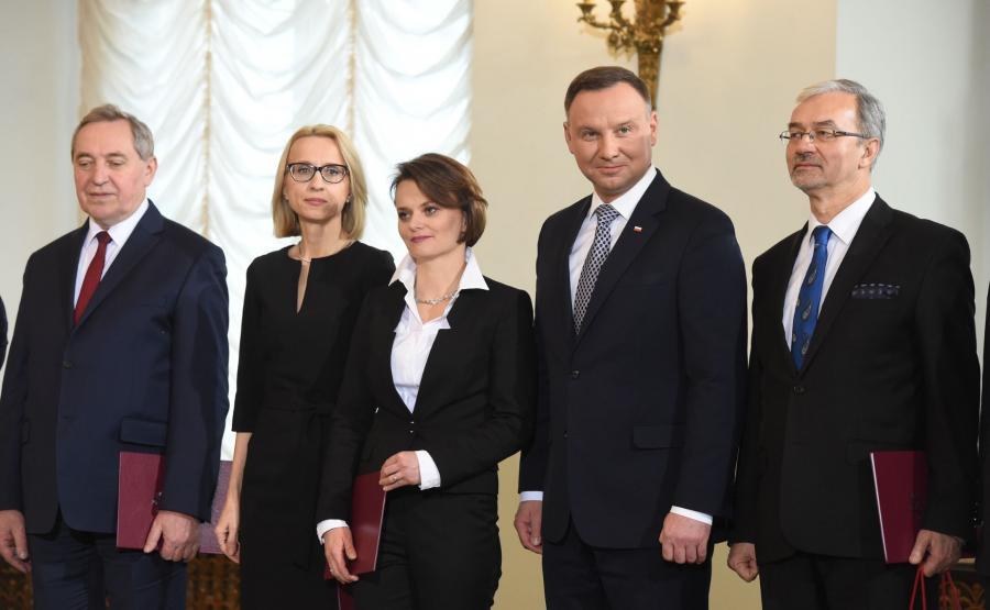 Prezydent wśród nowych ministrów