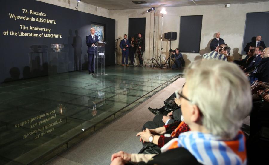 Obchody 73. rocznicy wyzwolenia KL Auschwitz-Birkenau