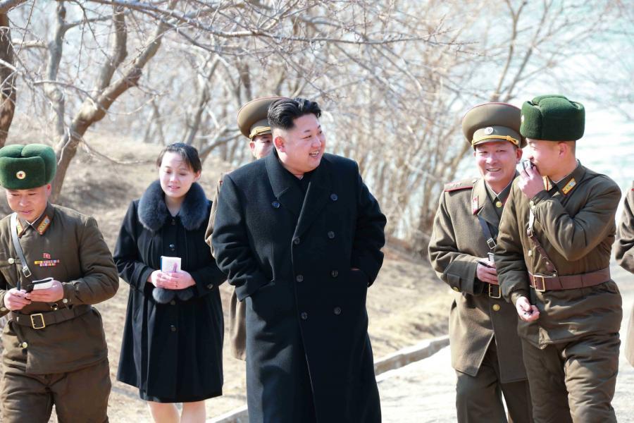 Yo Jong i Kim Dzong Un