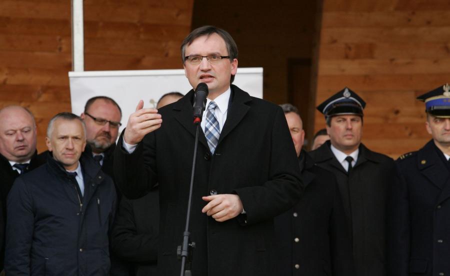 Lider Solidarnej Polski Zbigniew Ziobro