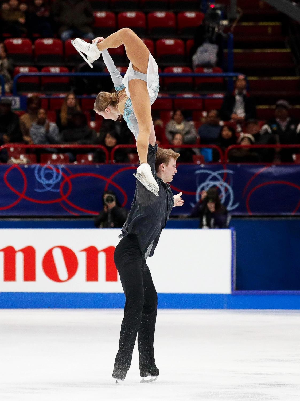 Ioulia Chtchetinina i Mikhail Akulov
