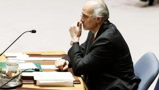 Bashar al-Ja'afari, ambasador Syrii przy ONZ