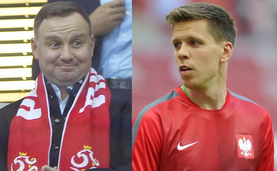 Andrzej Duda, Wojciech Szczęsny