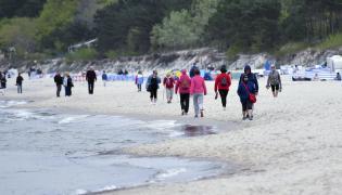 Majówka na plaży w Międzyzdrojach