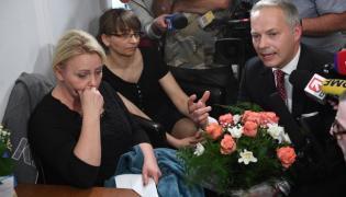 Jacek Żalek przeprasza protestujące matki w Sejmie