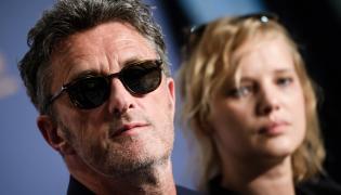 Paweł Pawlikowski oraz Joanna Kulig w Cannes