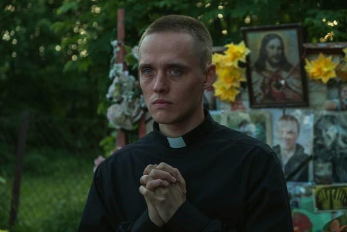 Kadr z filmu Jana Komasy o roboczym tytule \