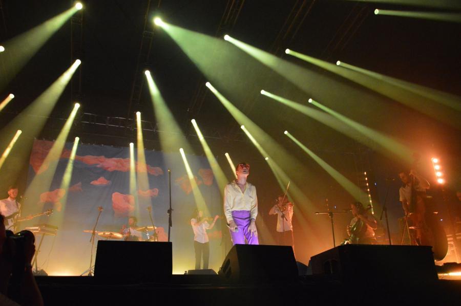 Ralph Kaminski podczas Orange Warsaw Festival. 1 czerwca 2018