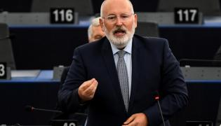 Frans Timmermans w PE