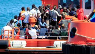 Hiszpania migranci