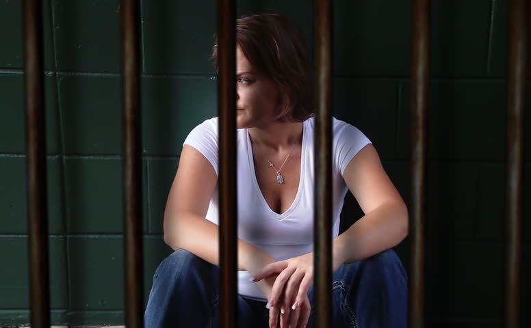 Kobieta w więzieniu