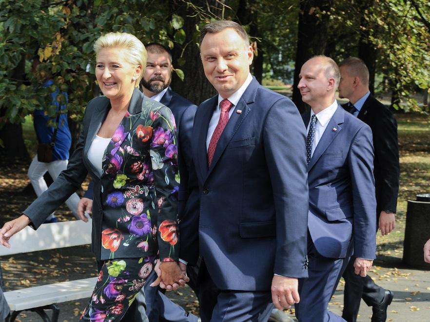 Agata Kornhauser-Duda; Andrzej Duda