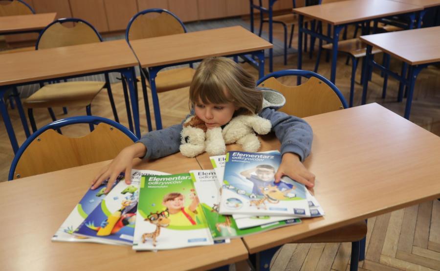 Dziecko i podręczniki szkolne