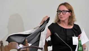 Była dyrektor Departamentu Produktów Amber Gold Sp. z o.o. Małgorzata Kin-Kaczmarek